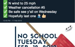 Teacher predicts five of six snow days