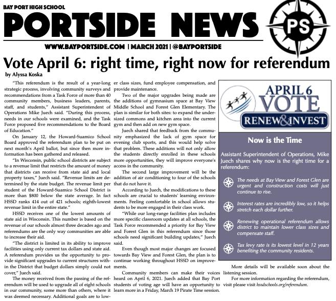 Portside: March 2021 Edition