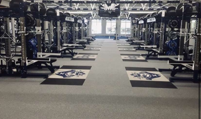 Bay Port's new weight room